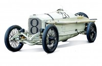 Mercedes 18/100 – the winner of the 1914 French Grand Prix (car number 28)