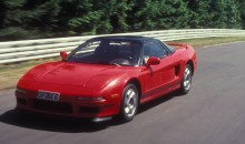 Acura NSX Test at Nurbergring 1990