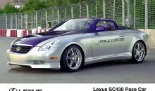 2002 Lexus SC 430 PACE CAR