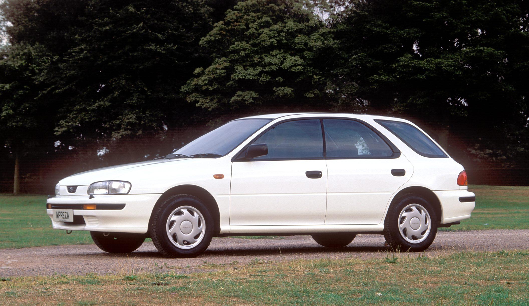 1993 Subaru Impreza 1.6 GL AWD 5 Door