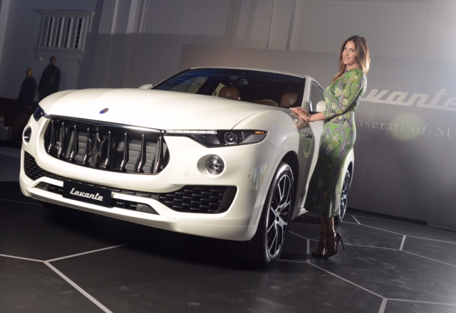 Maserati Levante - Lisa Snowdon