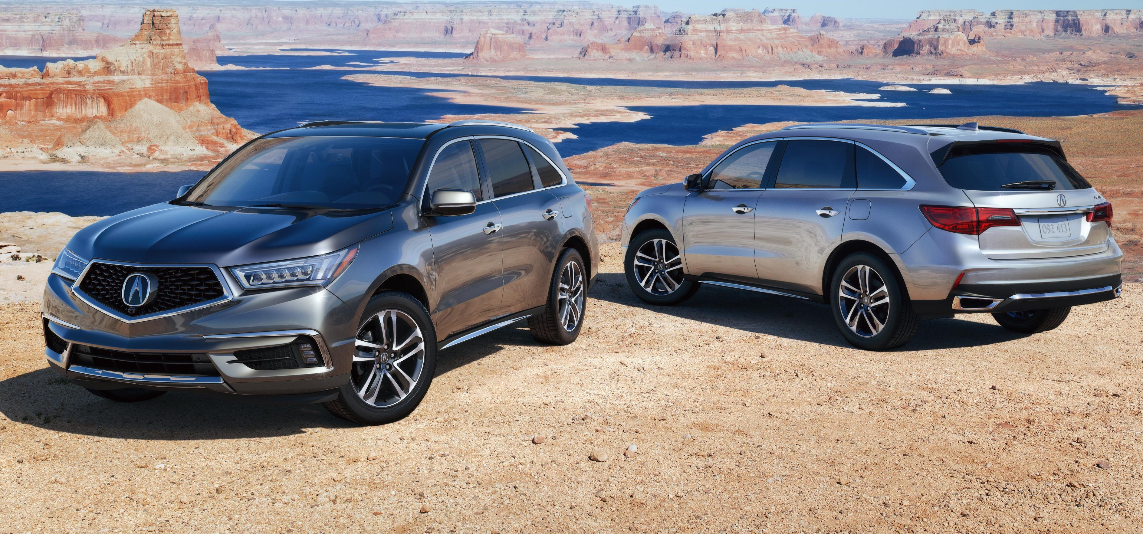 2017 acura mdx launches with bold new styling. Black Bedroom Furniture Sets. Home Design Ideas