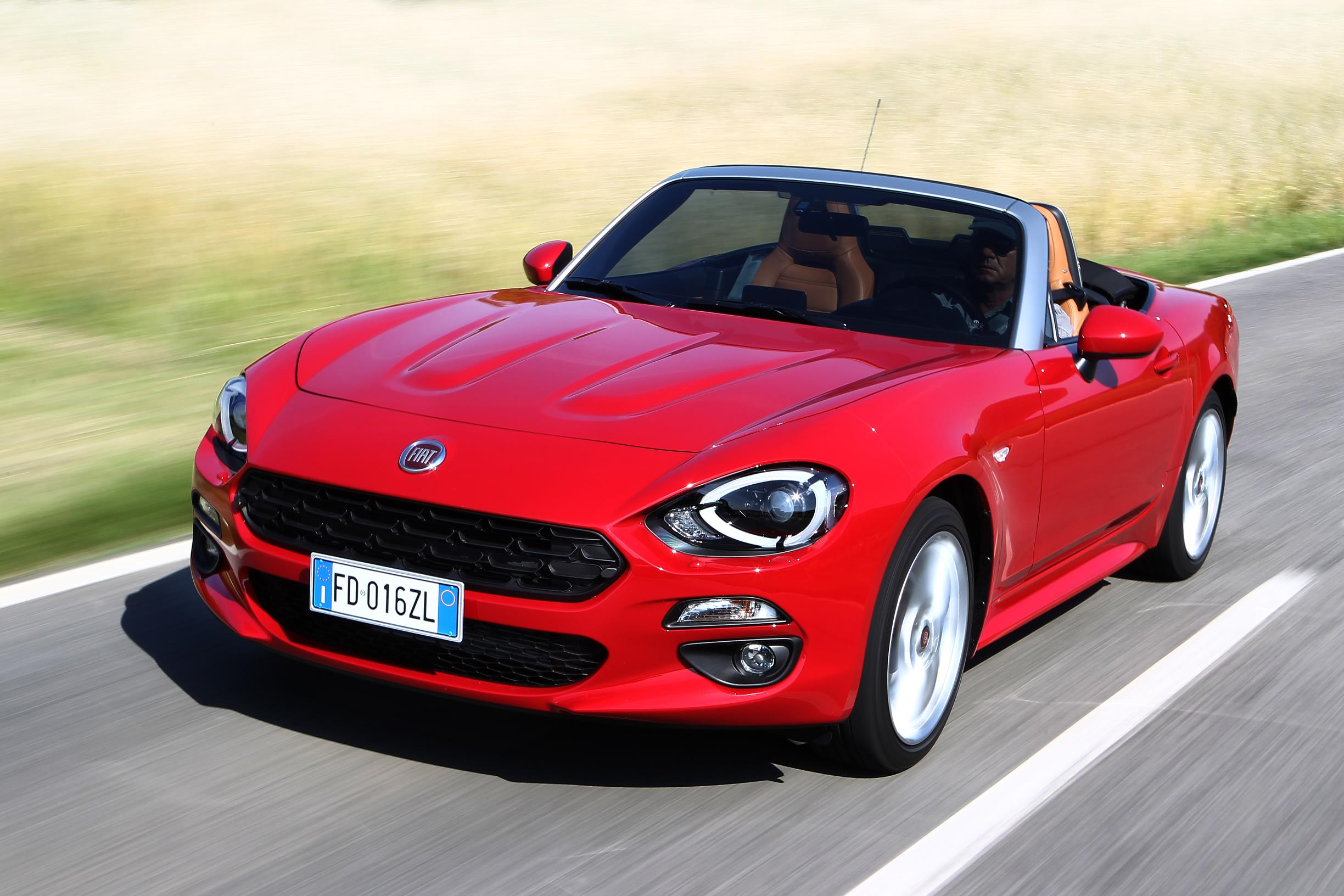 fiat 124 spider u k pricing and specifications. Black Bedroom Furniture Sets. Home Design Ideas