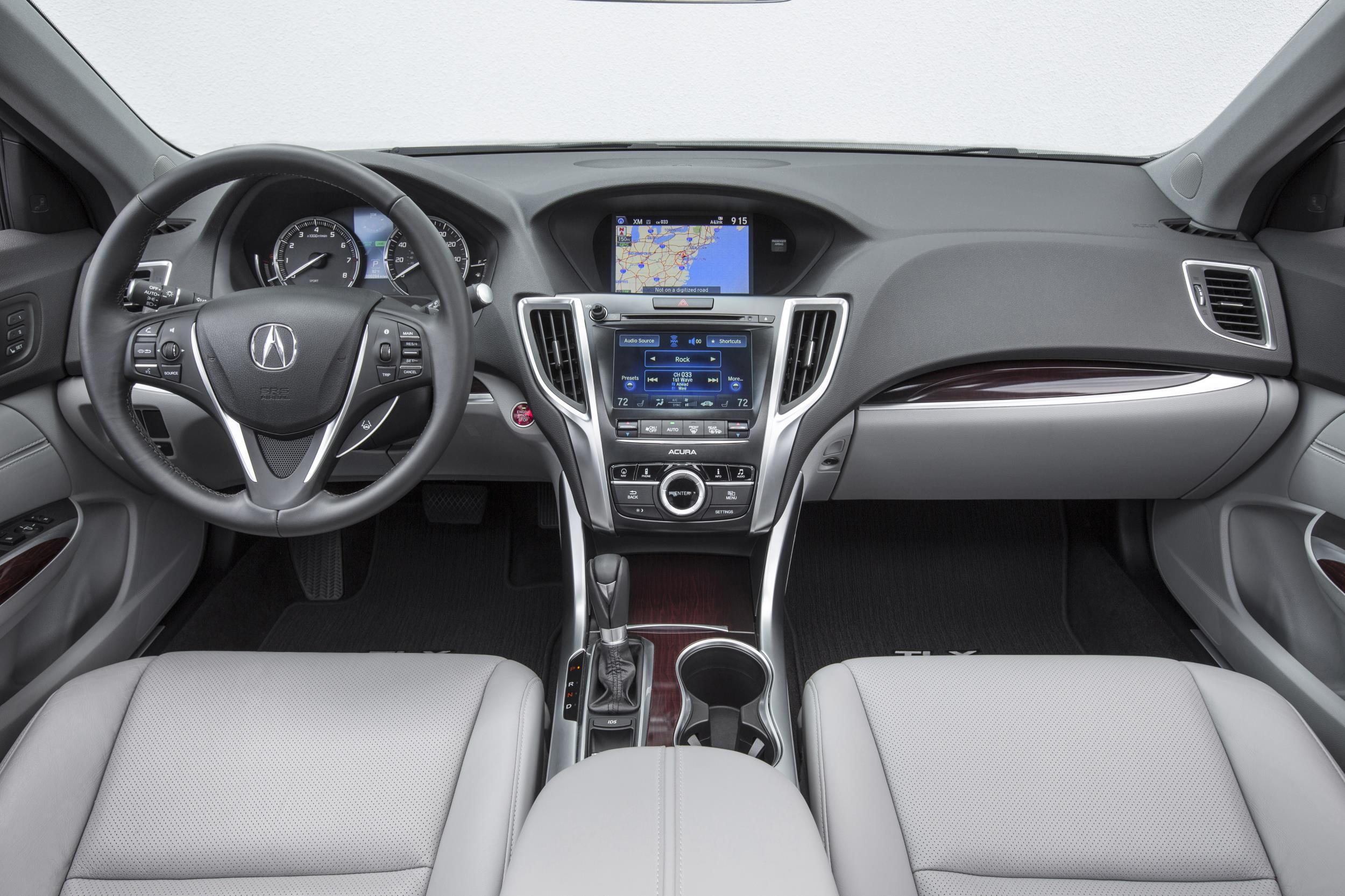 2017 Acura Tlx Interior L4 02 Myautoworld Com