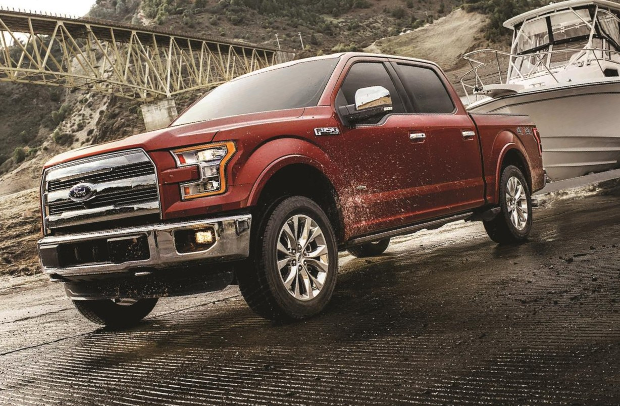 2017 FORD F-150 - ALL-NEW 3 5-LITER ECOBOOST V6 NETS BEST-IN-CLASS