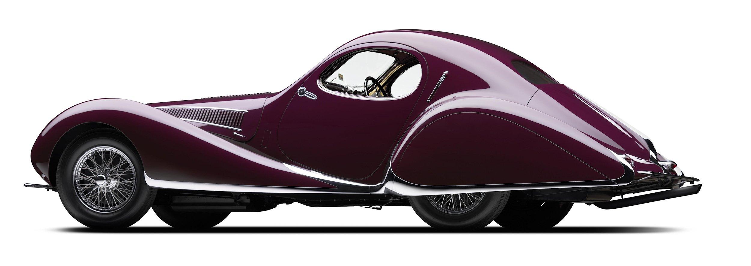 1937 Talbot Lago T150CSS-rear 3q
