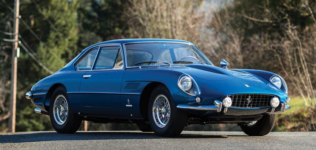 1962 Ferrari 400 Superamerica LWB Coupe Aerodinamico
