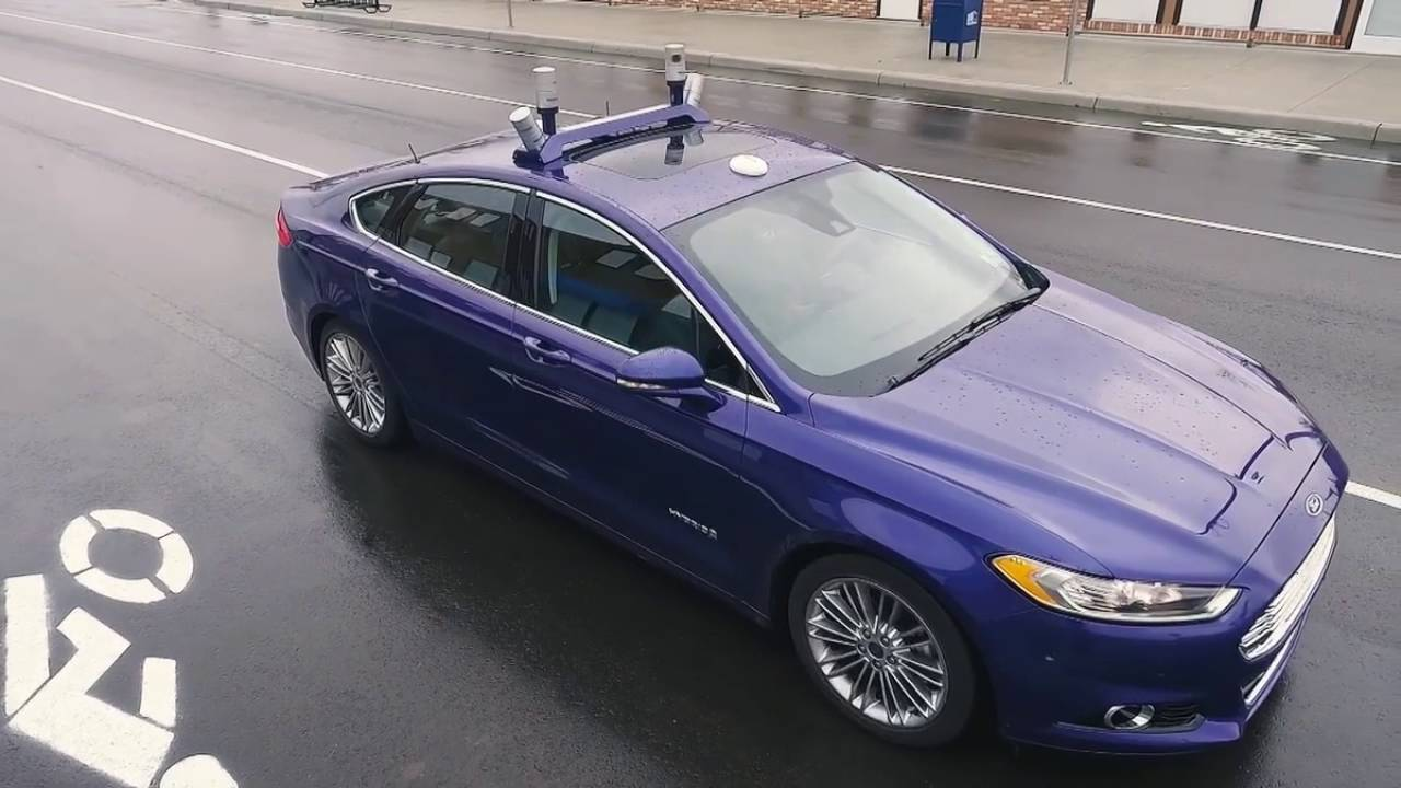 FORD TARGETS FULLY AUTONOMOUS VEHICLE FOR 2021