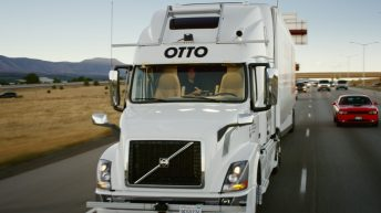 SELF-DRIVING TRUCK COMPLETE FIRST COMMERCIAL SHIPMENT