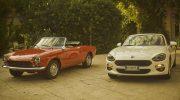 FIAT 124 SPIDER CELEBRATES ITS 50TH ANNIVERSARY