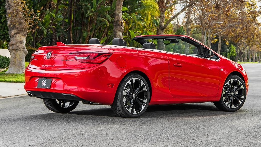 BUICK EXPANDS CASCADA SPORT TOURING WITH NEW SPORT RED ...