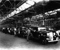 1933 Dodges on final assembly line, Windsor Passenger Car Assembly Plant. On June 17