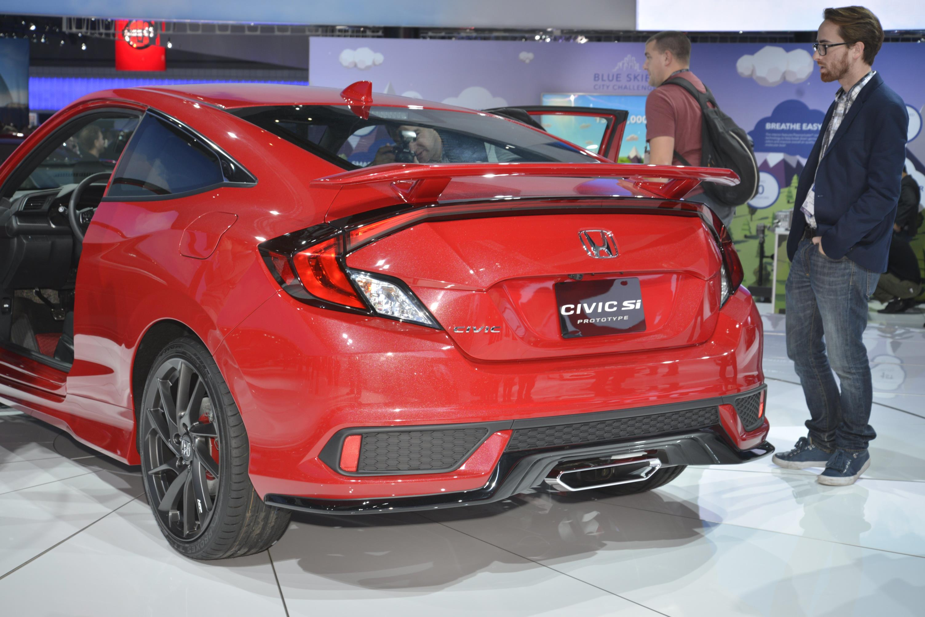 10Th Gen Civic >> Sporty Honda Civic Si Prototype Completes 10th Generation Civic Line