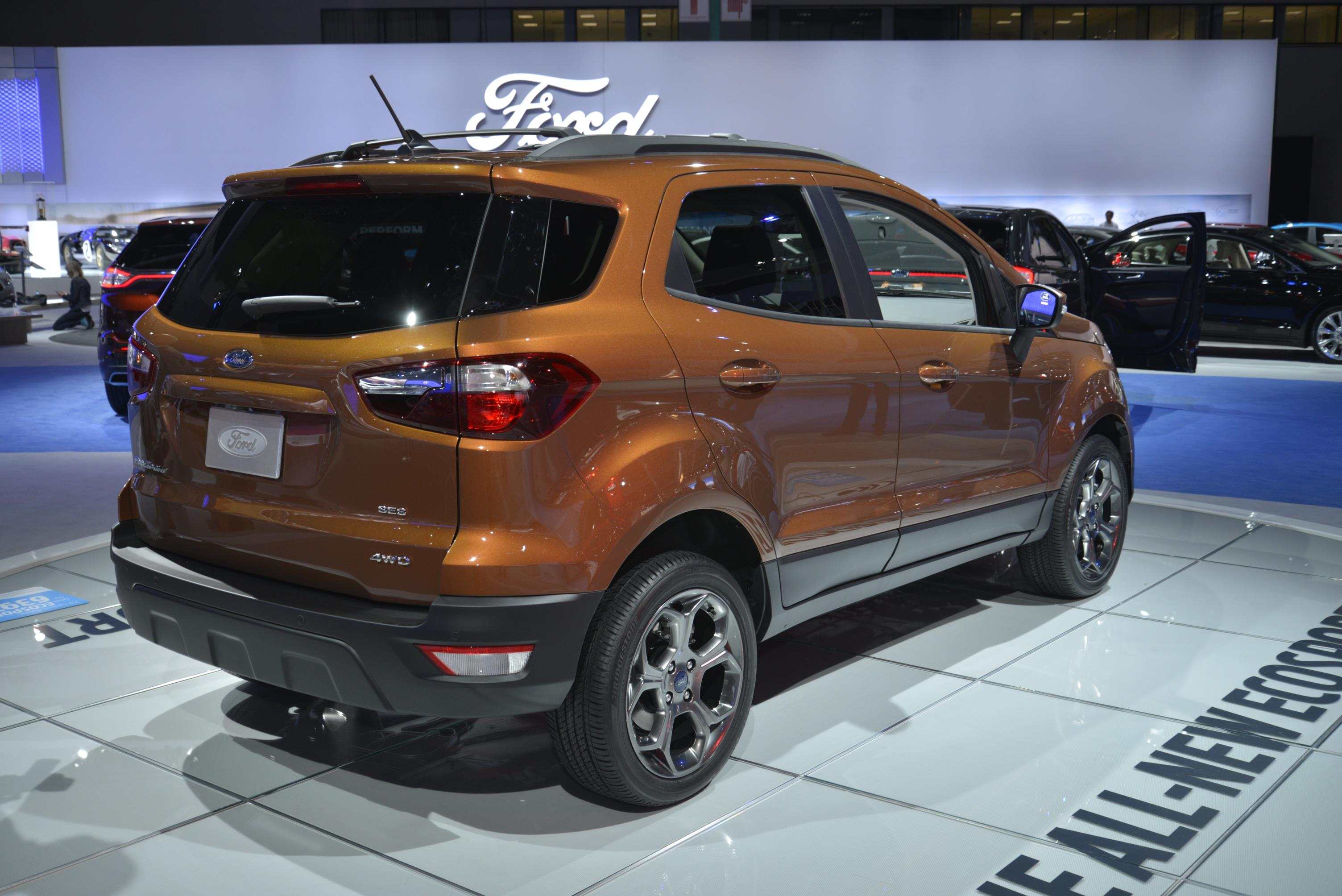 ALL-NEW ECOSPORT - FORD'S SMALLEST SUV