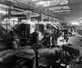 The forge at the Dodge Main plant circa 1918.
