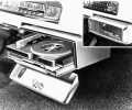 First offered in 1956, the Hi-Way Hi-Fi system allowed drivers t