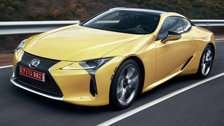 THE 2018 LEXUS LC