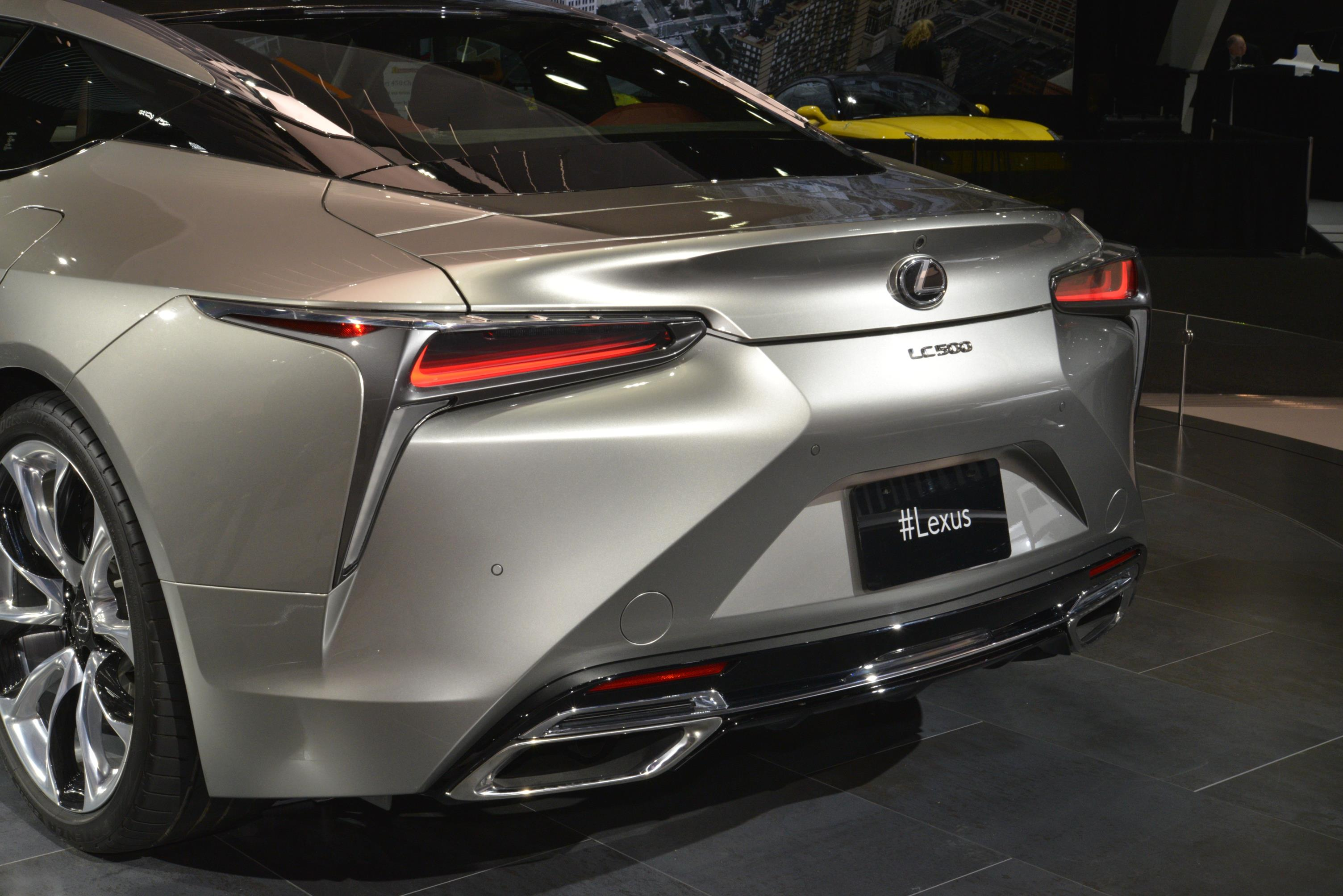 Lexus Announces Pricing For All New 2018 Lc Performance