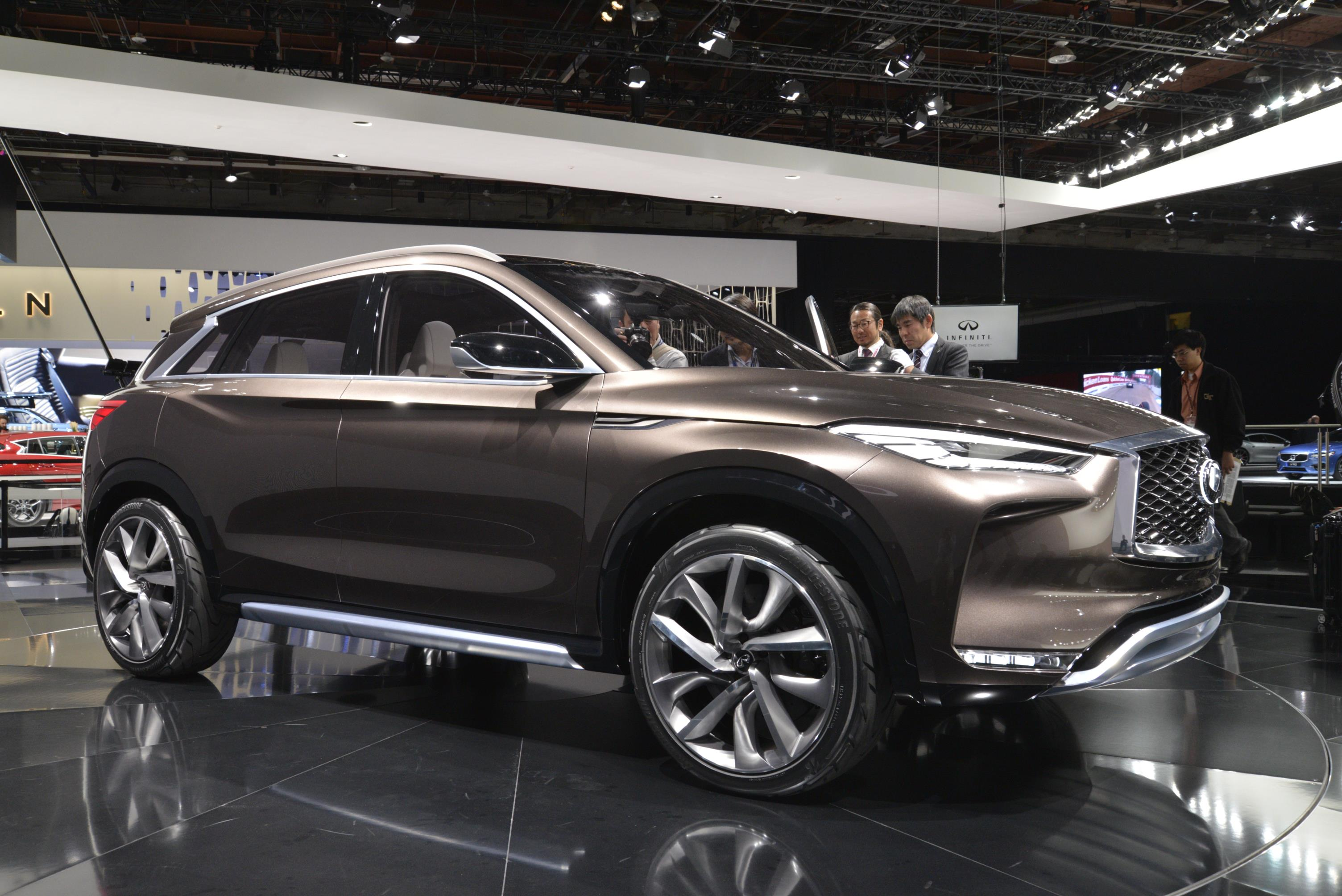 auto review the infiniti and preview of pricing infinity features roadshow automobile
