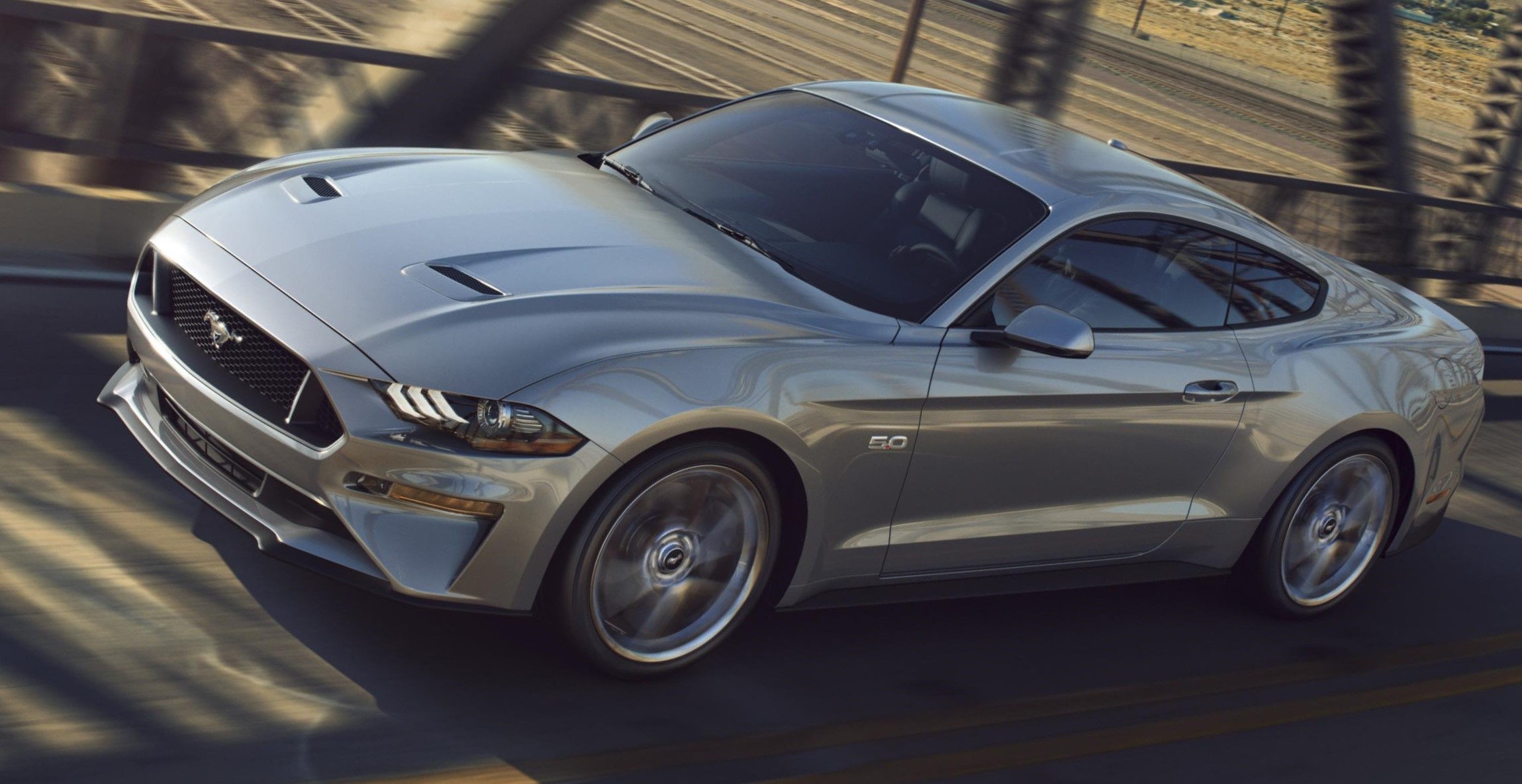 New Ford Mustang V8 Gt With Performace Pack In Ingot Silver