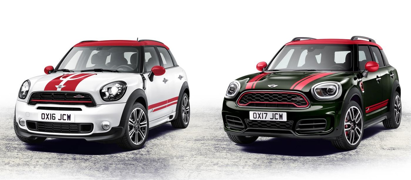 the new 2018 mini john cooper works countryman. Black Bedroom Furniture Sets. Home Design Ideas