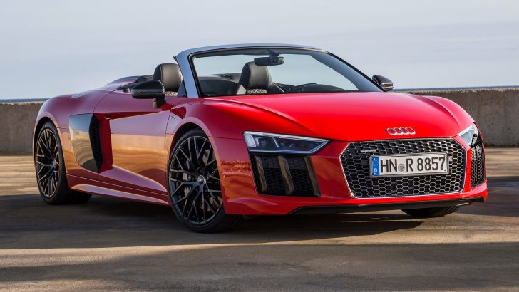 ALL-NEW 2017 AUDI R8 V10 SPYDER
