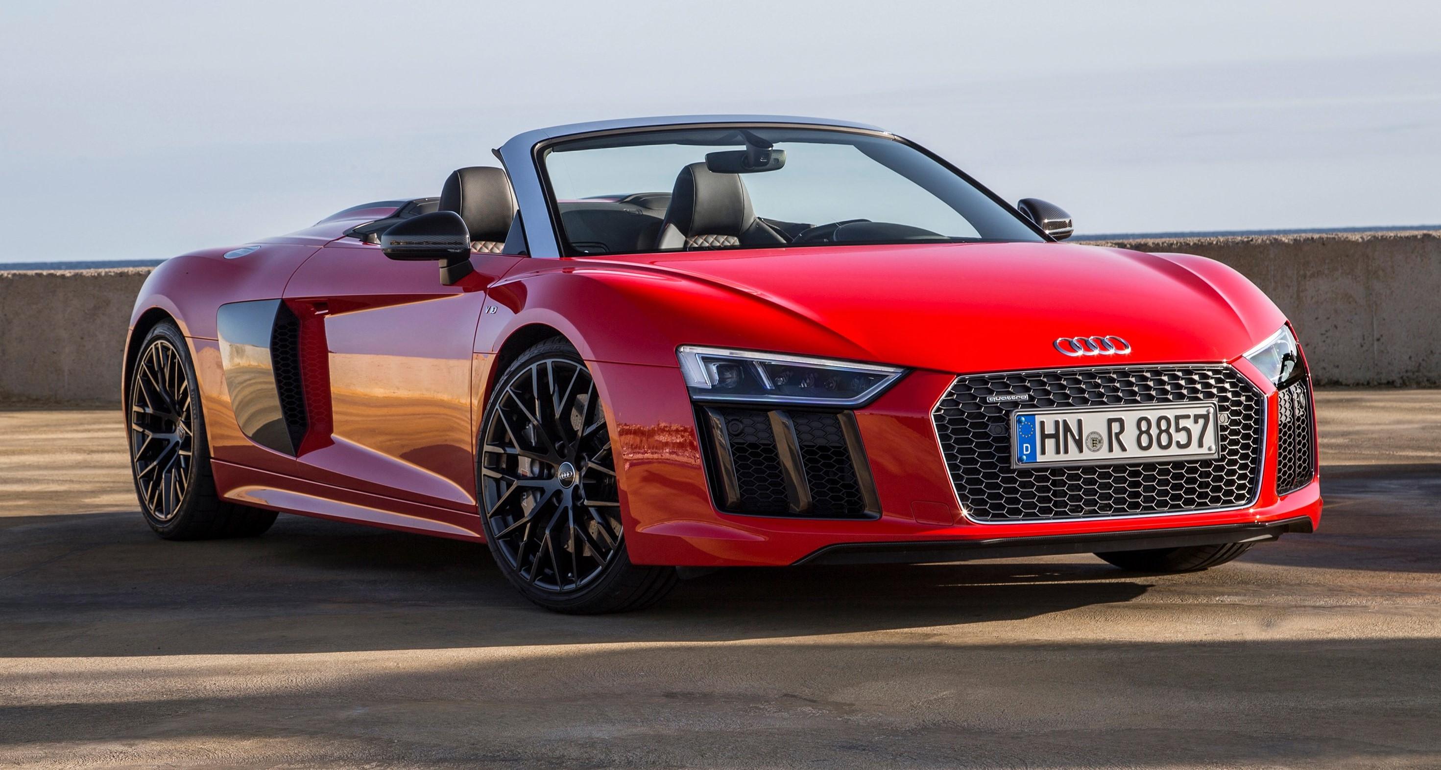all new 2017 audi r8 v10 spyder. Black Bedroom Furniture Sets. Home Design Ideas