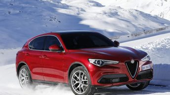 ALFA ROMEO UNVEILS STELVIO FOR FIRST TIME IN EUROPE