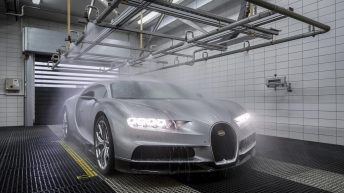 A VISIT TO THE PRODUCTION FACILITY FOR THE BUGATTI CHIRON