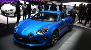 ALPINE A110  MAKES DEBUT AT GENEVA