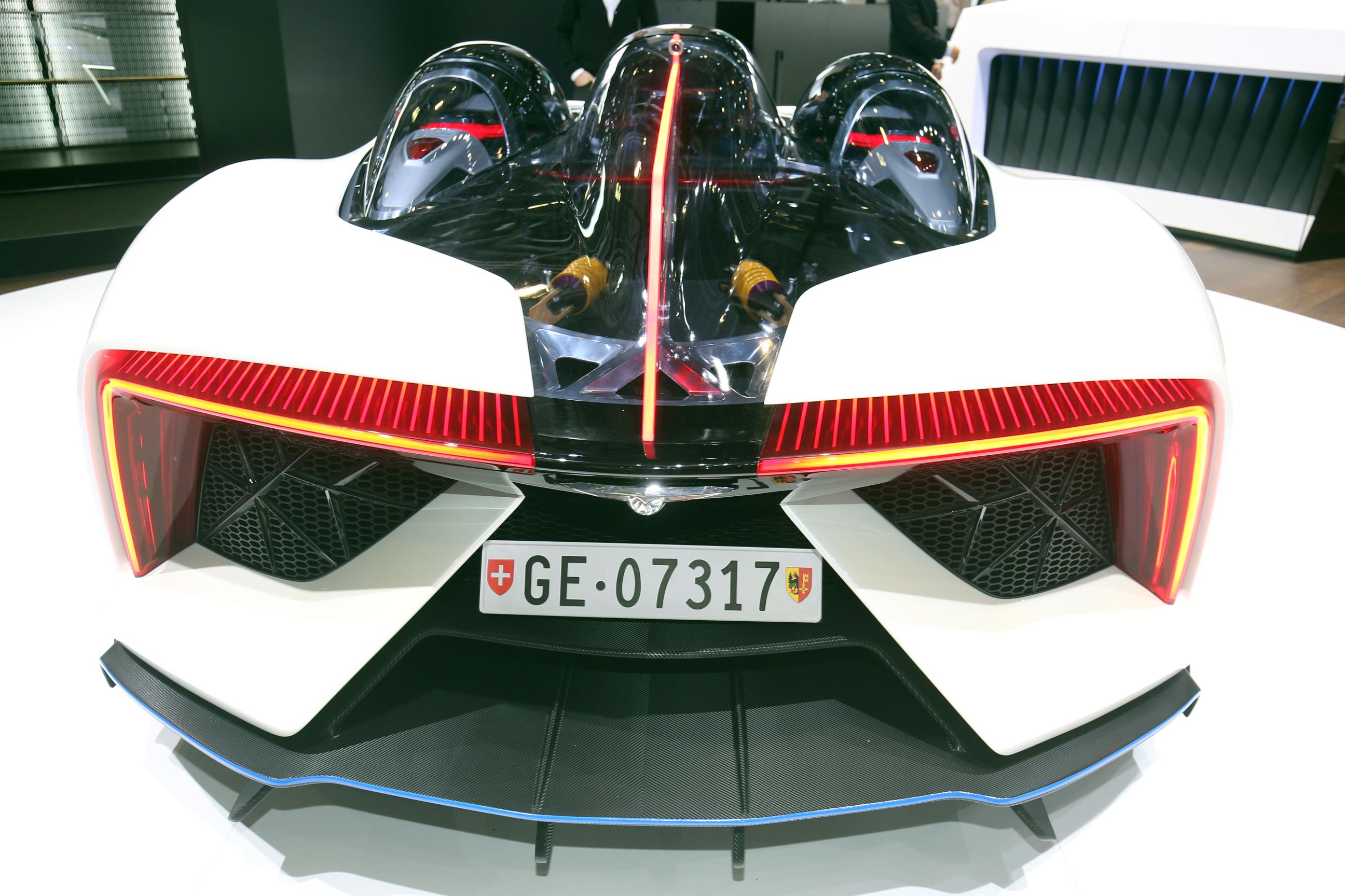 TECHRULES DEBUTS PRODUCTION DESIGN FOR THE Ren SUPERCAR ...