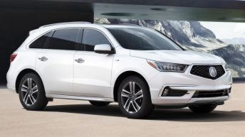 2017 ACURA MDX SPORT HYBRID ELECTRIFIES SUV LINEUP