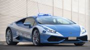 LAMBORGHINI DELIVERS NEW HURACÁN POLIZIA TO THE ITALIAN POLICE