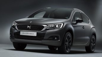 2017 DS 4 CROSSBACK MOONDUST LIMITED EDITION