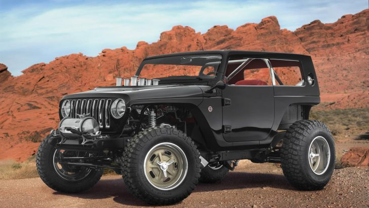 JEEP REVEAL NEW CONCEPT VEHICLES FOR 51ST ANNUAL MOAB EASTER JEEP SAFARI