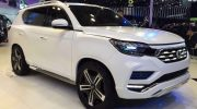 SSANGYONG UNVEILS ALL-NEW REXTON