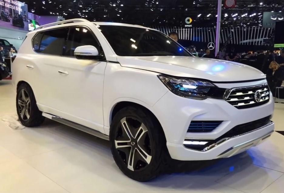 ssangyong unveils   rexton myautoworldcom