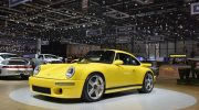 2017 RUF CTR UNVEILED IN GENEVA FIRST REAR-ENGINE CARBON MONOCOQUE ROAD CAR