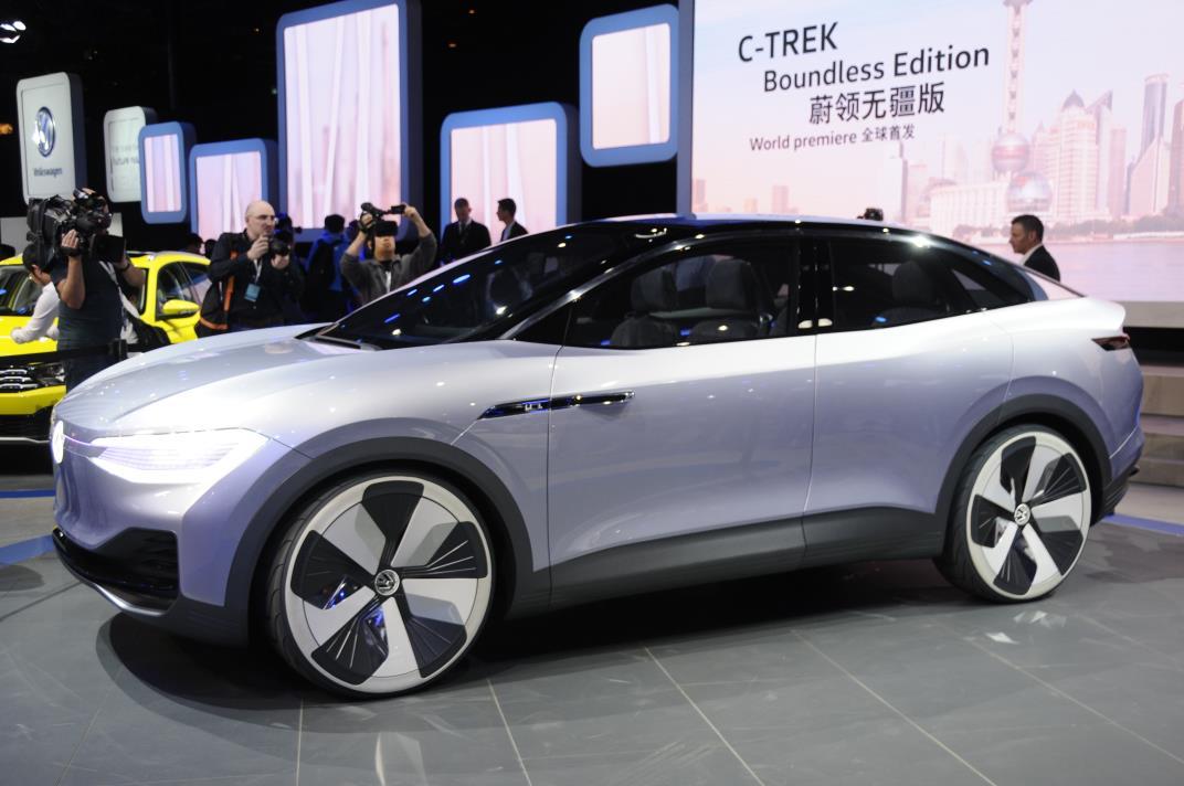 VW ID Crozz Electric Crossover SUV: Design, Release >> Volkswagen Debuts I D Crozz Crossover Concept Myautoworld Com