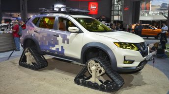 NISSAN ROGUE TRAIL WARRIOR PROJECT MAKES DEBUT AT 2017 NEW YORK AUTO SHOW