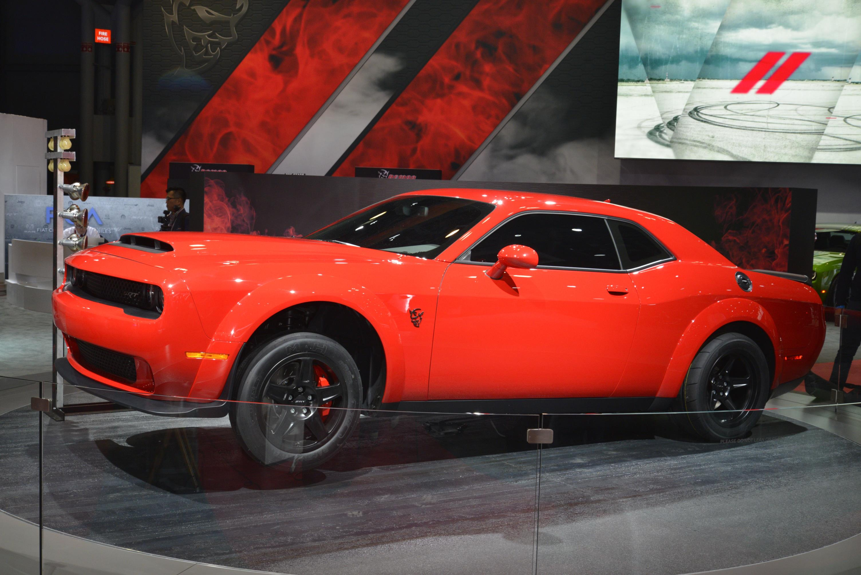 2018 DODGE CHALLENGER SRT DEMON - myAutoWorld.com