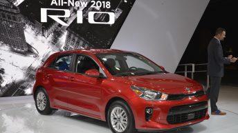ALL-NEW 2018 KIA RIO SEDAN AND 5-DOOR MAKE U.S. DEBUT AT NEW YORK AUTO SHOW