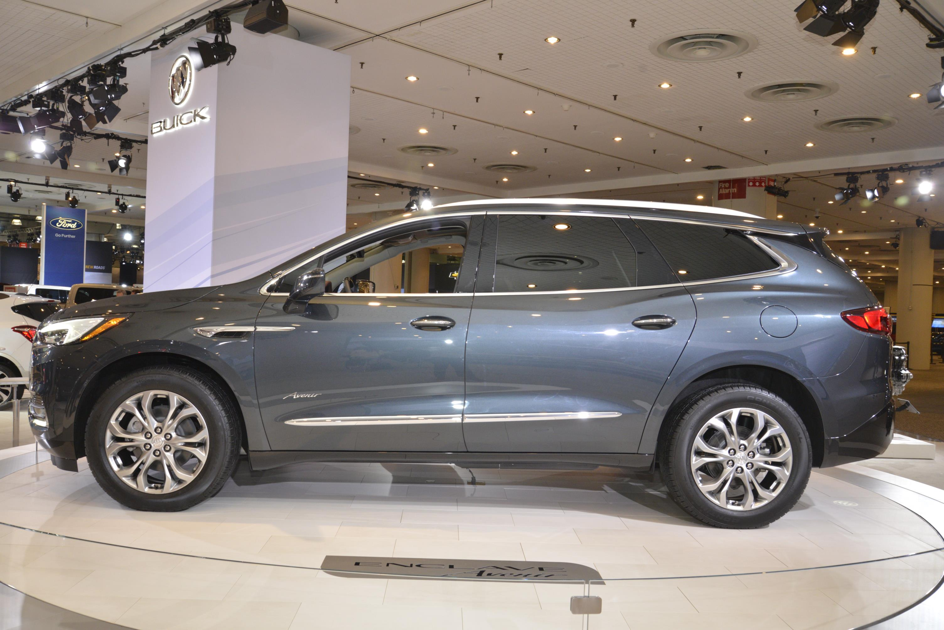 enclave seat buick car vehicles suv tether anchors enclaves row the lady