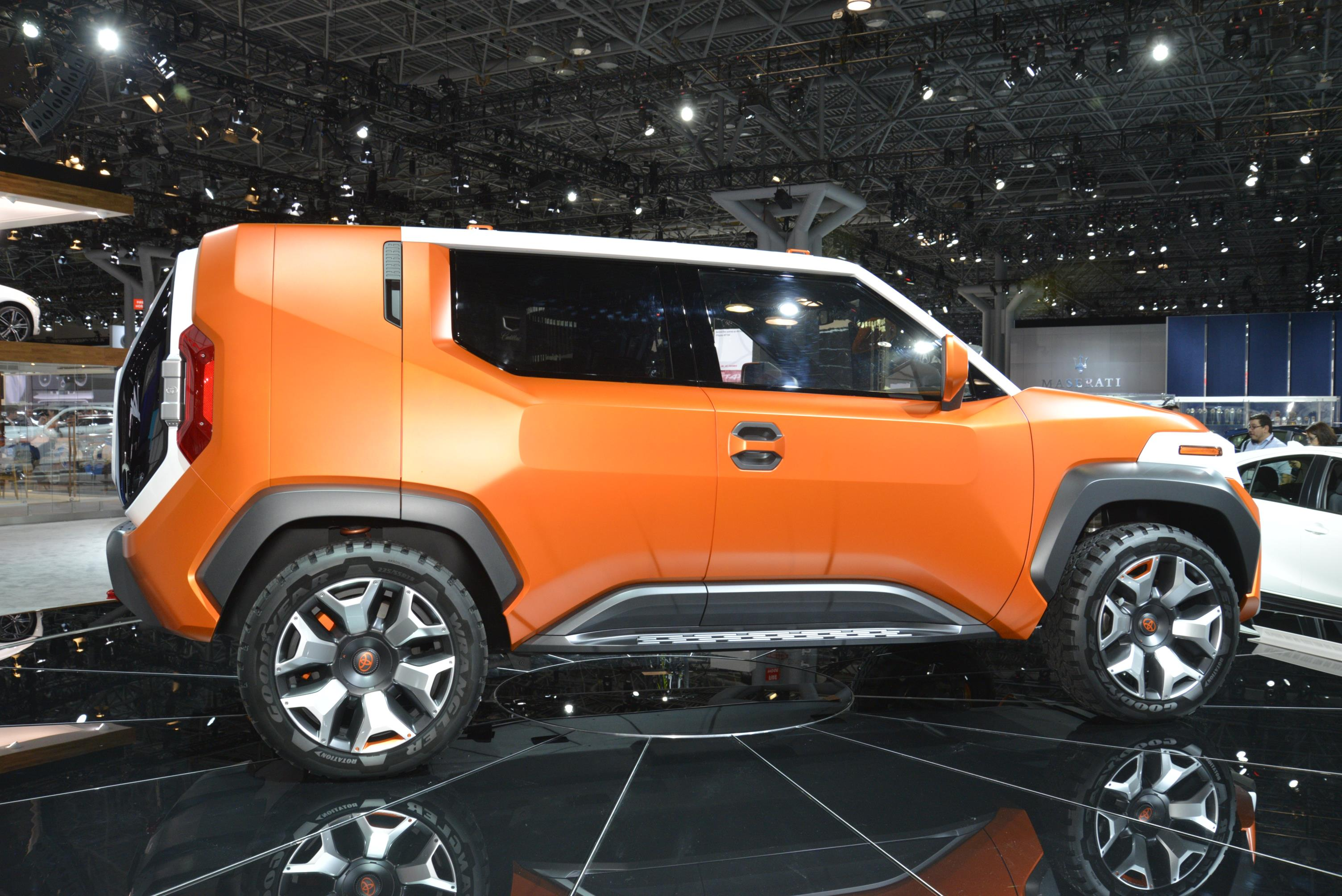 Toyota Ft 4x Concept Is A Modern 4x4 Toolbox For The Most
