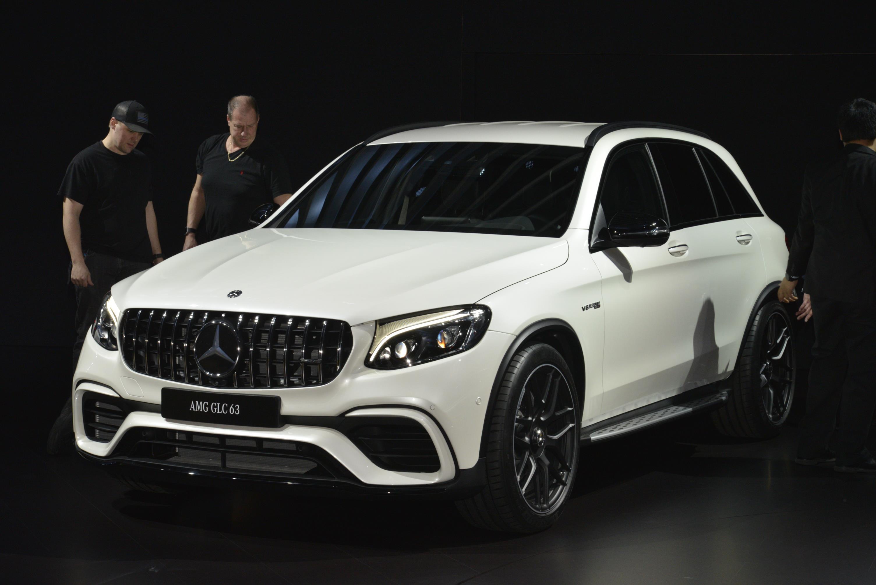 MERCEDESBENZ HIGHLIGHTS AT THE NEW YORK AUTO SHOW - Mercedes car show