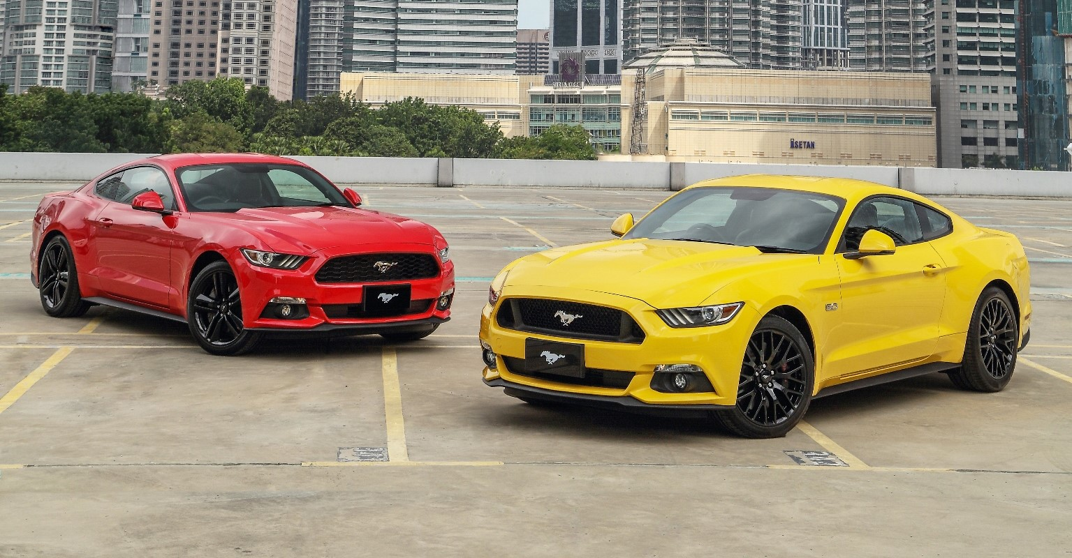 EXPORTS MAKES FORD MUSTANG BEST-SELLING SPORTS CAR FOR 2016 ...