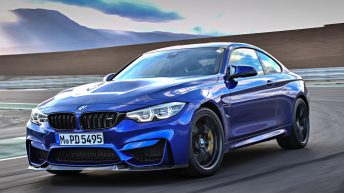 THE FIRST EVER BMW M4 CS