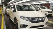 ALL-NEW 2018 HONDA ODYSSEY MINIVAN BEGINS MASS PRODUCTION IN ALABAMA