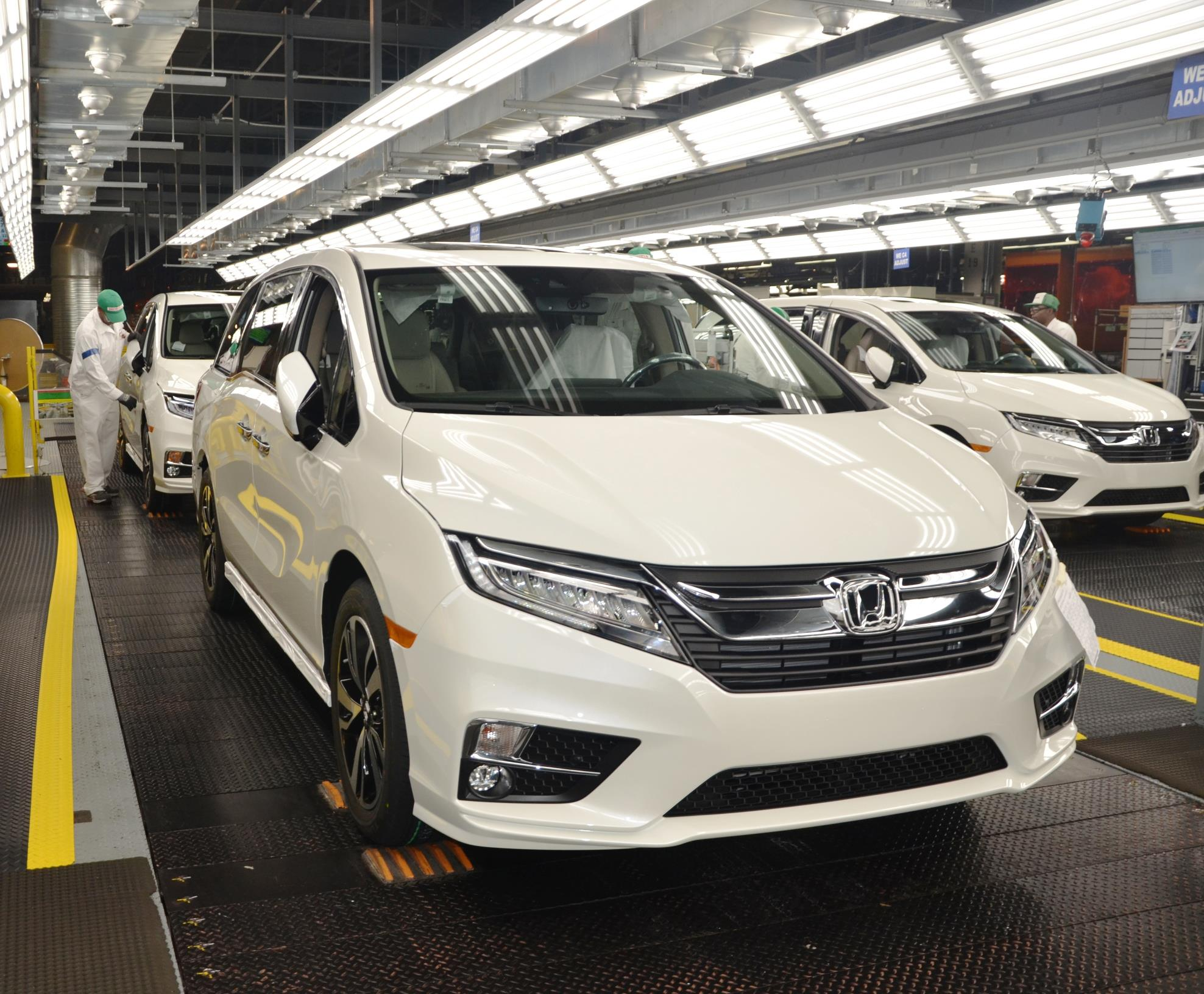 Superb More Than 1,500 Associates At Honda Manufacturing Of Alabama (HMA) Today  Celebrated The Start Of Mass Production Of The All New 2018 Honda Odyssey  Minivan, ...