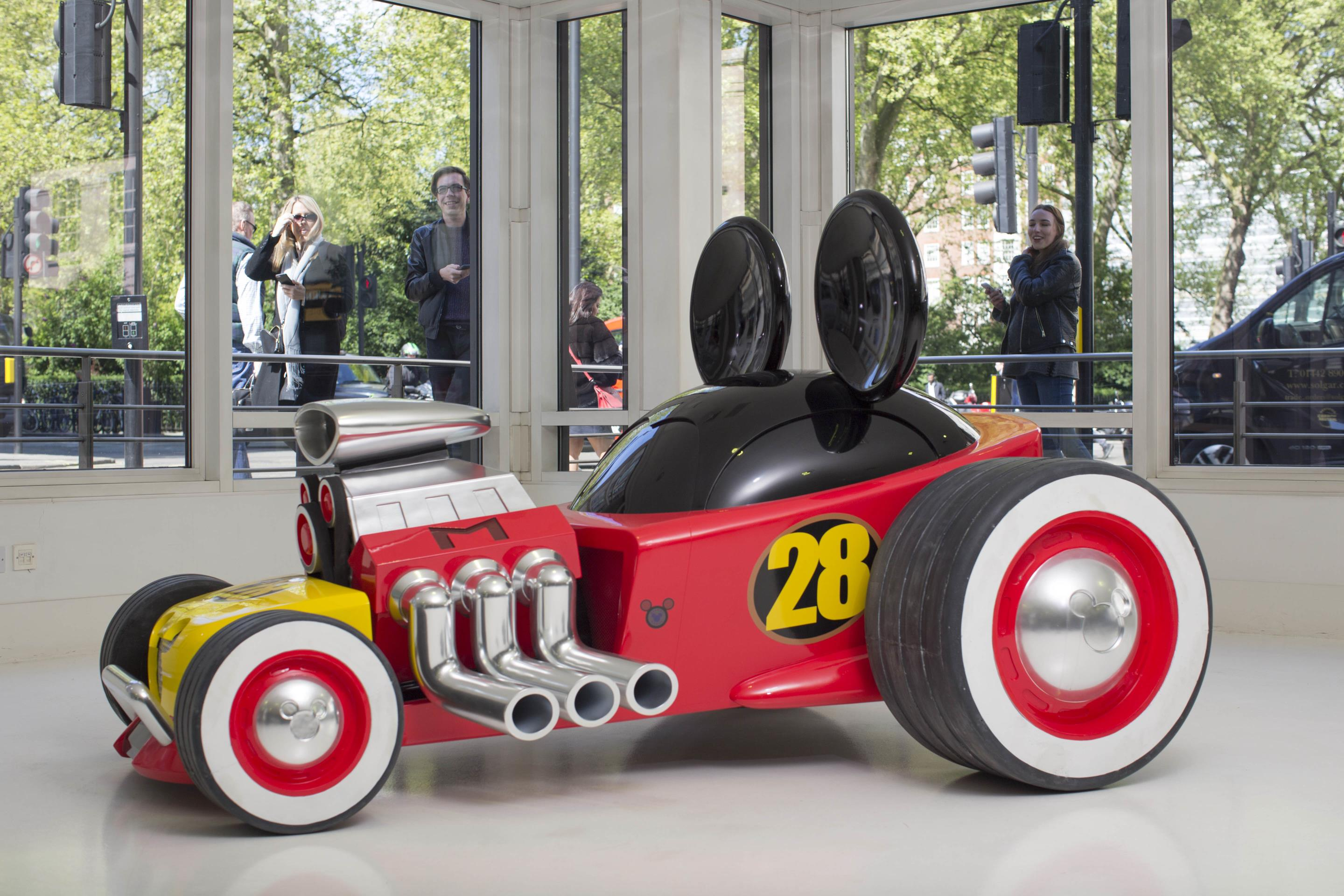 mickey mouse s new roadster racer   myautoworld